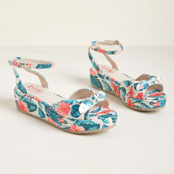 Elevated Ensemble Platform Sandal