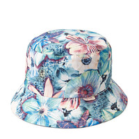 Tropical Print Reversible Bucket Hat