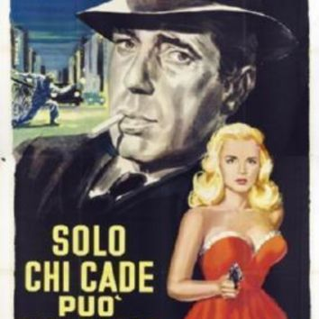 Dead Reckoning Italian movie poster Sign 8in x 12in