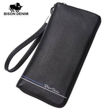 Men's handbags genuine leather bag Clutches business casual wallet Purses Card Holder Wallets Male Clutch Bag