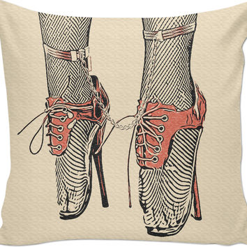 Adult erotic series, couch throw pillow, Dance baybe dance for Master pleasure