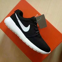 """Nike Roshe Run"" Unisex Sport Casual Classic Sneakers Couple Running Shoes"
