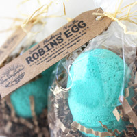 Robins Egg Bath Bomb - Sweet Blueberry Vanilla