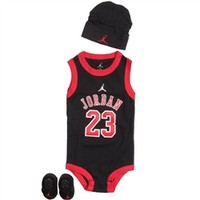 Nike Jordan Baby Set in Black | Free Shipping on All Orders!