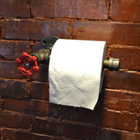 Industrial Steel Pipe Toilet Paper Holder