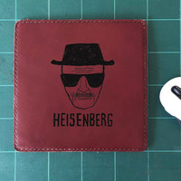 Heisenberg Walter White Mouse Pad Leather Mousepad Mouse Mat