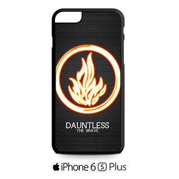 divergent dauntless the brave 2 iPhone 6S  Plus  Case