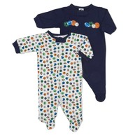 2pk Sleep n Play w Zip front newborn 342936637 | Baby Sleepwear | Baby Boy Clothes | Clothing | Burlington Coat Factory