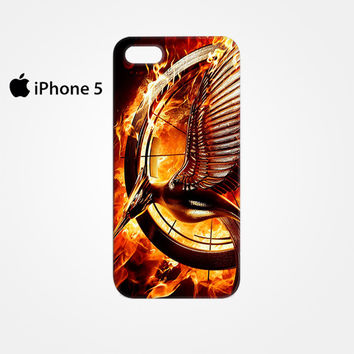 The Hunger Games Catching Fire Sign for Iphone 4/4S Iphone 5/5S/5C Iphone 6/6S/6S Plus/6 Plus 3D Phone case