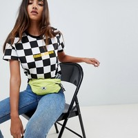 Criminal Damage Checkerboard T-Shirt at asos.com