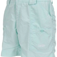 Fishing Shorts in Mint Green by AFTCO