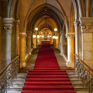 Red Carpet Staircase Backdrop - 601