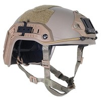 Lancer Tactical CA-805T Maritime ABS Helmet Color: Dark Earth, Size: Medium to Large