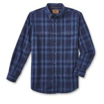 Outdoor Life Men's Flannel Shirt - Plaid - Sears