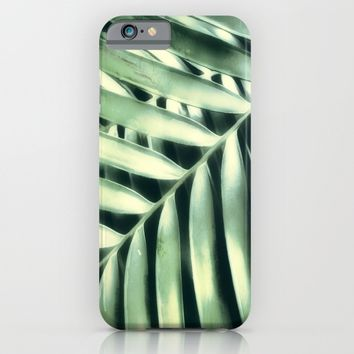 Tropical Light And Shadow iPhone & iPod Case by Art64 | Society6