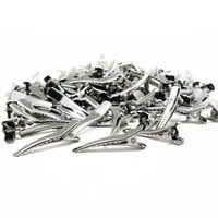 100 Pc Alligator Clips For Hair Bows Clip Girls Bow Barrette Fashion Accessories