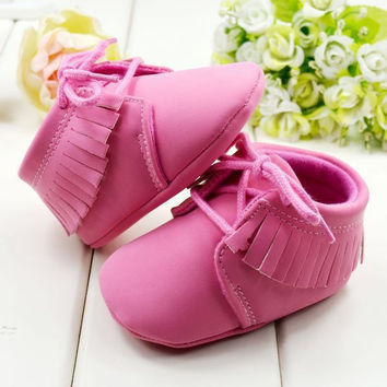 Warm Baby Girl Princess Shoes Sweety Cotton Winter Toddler Baby First Walker Shoes