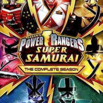POWER RANGERS SUPER SAMURAI:COMPLETE