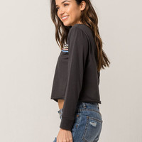BILLABONG Keep Dreaming Womens Crop Tee