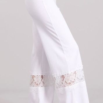 Lace Bell Bottoms