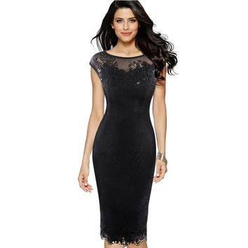 Womens Sexy Sequins Crochet Butterfly Lace Party Bodycon Evening Bridemaid Mother of Bride Special Occasion Dress 211