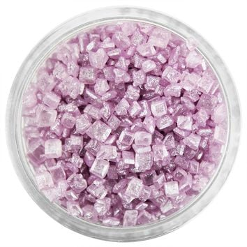 Pearly Light Purple Chunky Sugar
