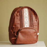 Cute Fashion Retro Lace Backpack