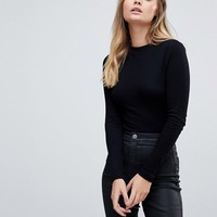 ASOS Body With Turtle Neck In Long Sleeve at asos.com