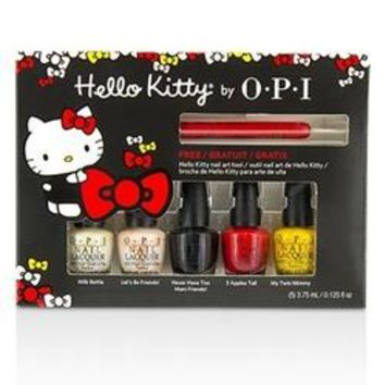 Hello Kitty Mini Nail Lacquers Friend Pack 6pcs