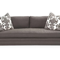 "Dunsmier 94"" Tailored Sofa, Charcoal"