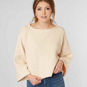 FREE PEOPLE I CAN'T WAIT DOLMAN SWEATER