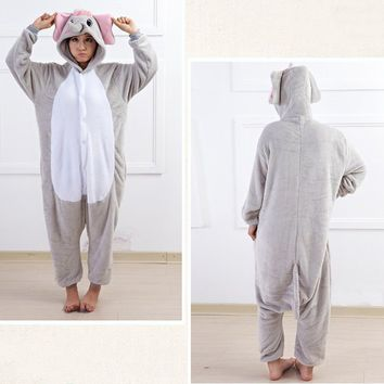 Tonwhar® Elephant Sleepsuit Pajamas Costume Cosplay Homewear Lounge Wear