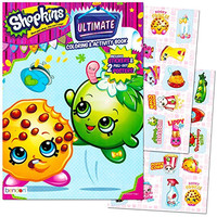 Shopkins Coloring and Activity Book with Stickers and Posters