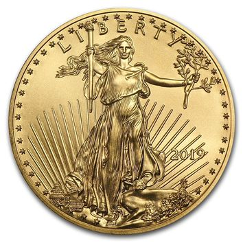 2019 1/2 oz Gold American Eagle BU