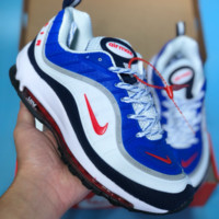HCXX N354 Nike Air Max 98 20th Anniversary Casual Running Shoes Red White Blue