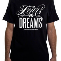 To Write Love on Her Arms Official Online Store - Fears Vs Dreams Guys Shirt