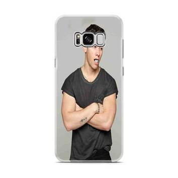 Nick Jonas Art Mouth Samsung Galaxy S8 | Galaxy S8 Plus Case