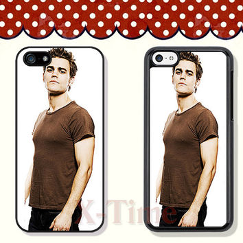 vampire Paul Wesley, iPhone 5 case iPhone 5c case iPhone 5s case iPhone 4 case iPhone 4s case, Samsung Galaxy S3 \S4 Case --X51129