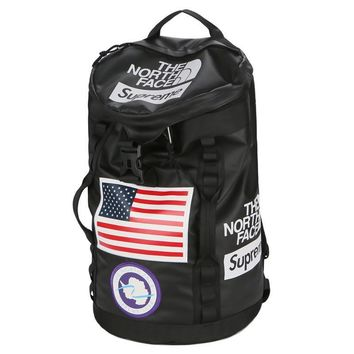 Supreme x The North Face Men Fashion Bucket Bag Shoulder Bag Backpack
