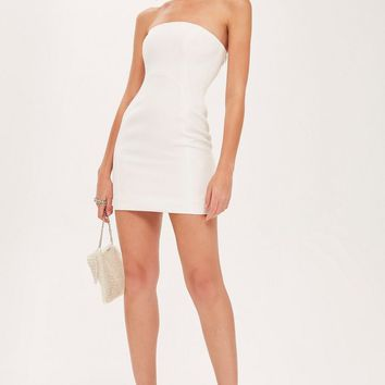 Clean Seam Bandeau Mini Dress - New In Fashion - New In