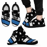 Thin Blue Line Flag Sneaker