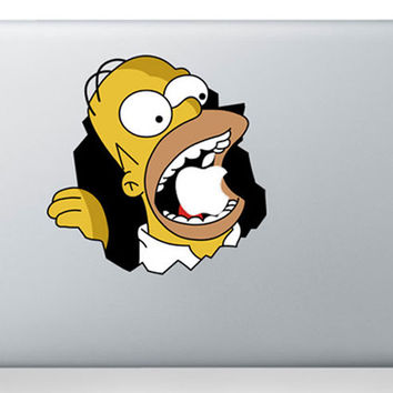 laptop sticker 13 inch Simpson for Macbook Decals Macbook Stickers Mac Vinyl Decal for Apple Laptop Macbook Pro