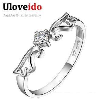 Angel Wedding Costume Jewelry Rings for Women