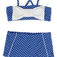 Toddler Girl's Hula Star 'Ocean Dot' Two-Piece Swimsuit,