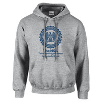 NSA The Only Part of Government That Actually Listens Hooded Sweatshirt