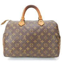 Authentic LOUIS VUITTON Speedy 30 Monogram Boston Hand Bag Purse #27924