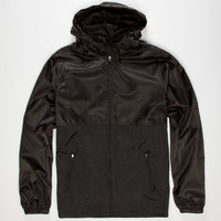 Rook Cyrus Mens Windbreaker Black  In Sizes