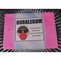 BUBBLEGUM Soap Bar | Kids | Unisex | Shave Puck | Beard Wash | Large