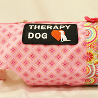 RockinDogs Custom Service Therapy Dog Cat or Service Dog Cat Harness-Variety of Patches