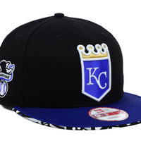 Kansas City Royals MLB Cross Colors Snapback Cap
